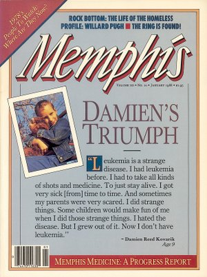 Memphis magazine, January 1988