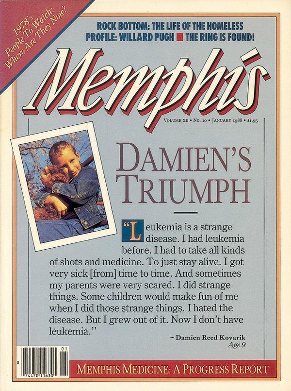 Memphis magazine, January 1988