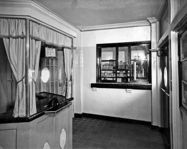 Interior of the Peabody Theater