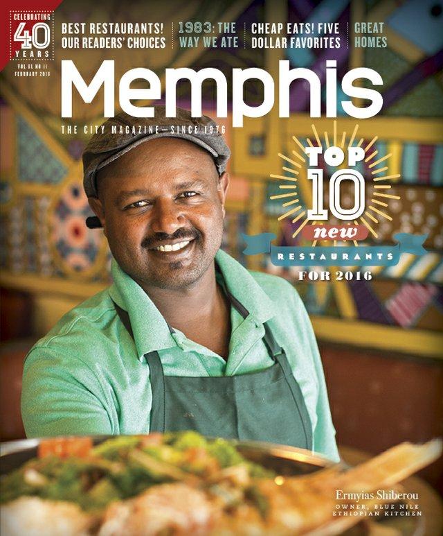 Memphis magazine, February 2016