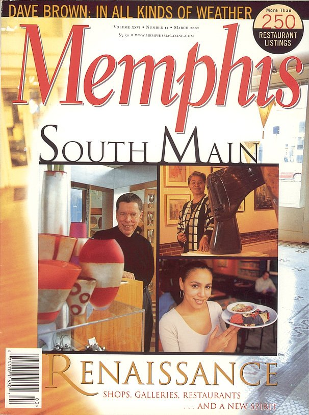 Memphis magazine, March 2002