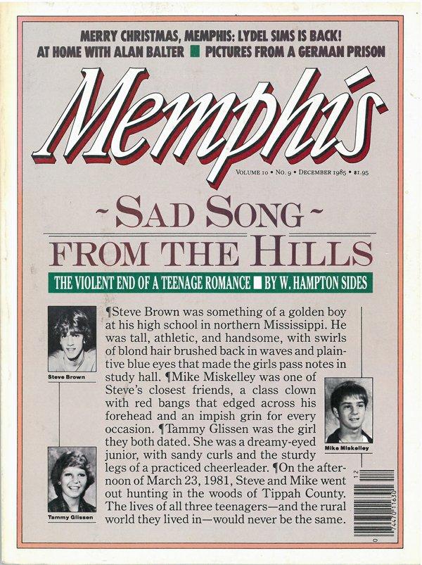 Memphis magazine, December 1985