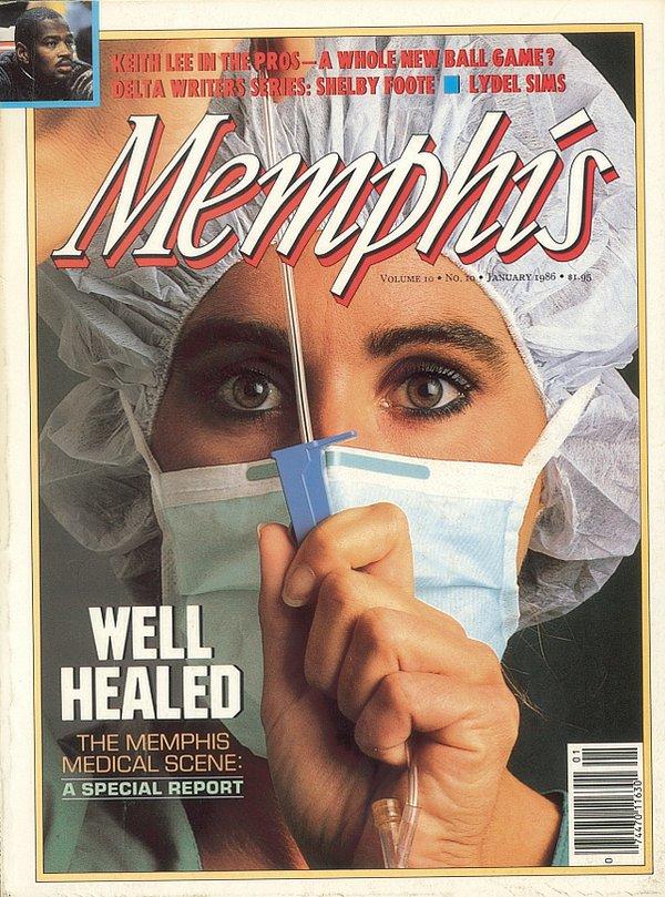 Memphis magazine, January 1986