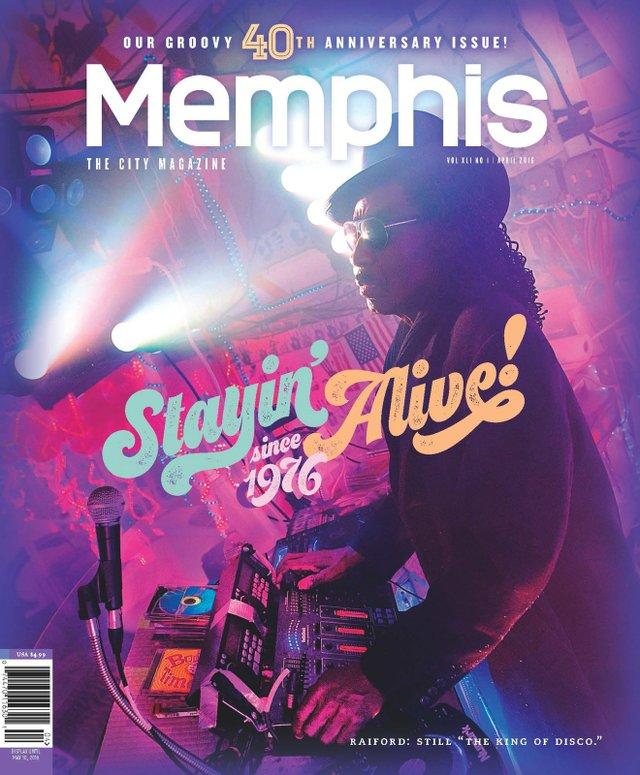 Memphis magazine, April 2016