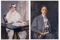 American, 1855 - 1942 Portrait of Mrs. & Mr. Samuel