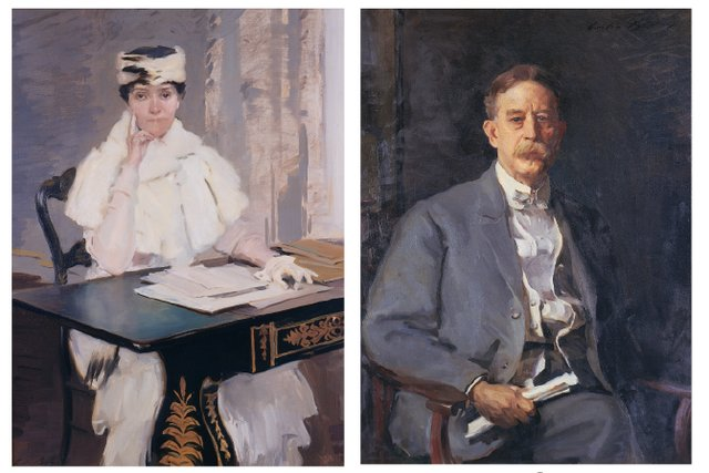 American, 1855 - 1942 Portrait of Mrs. & Mr. Samuel