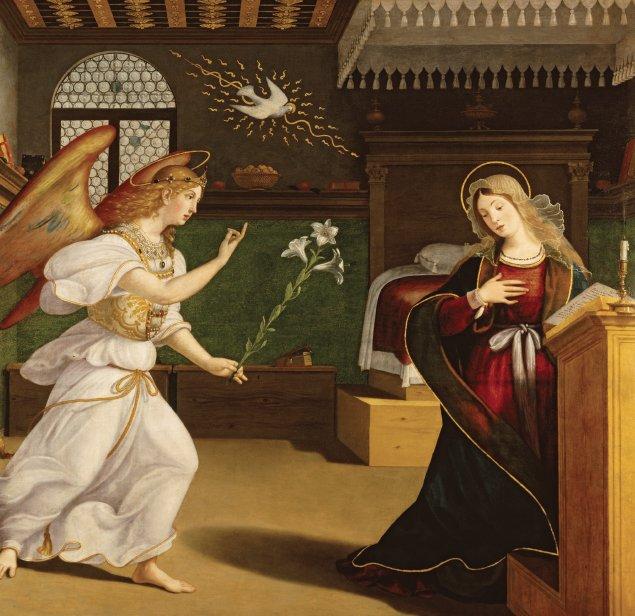 The Annunciation, ca. 1520 - 1525