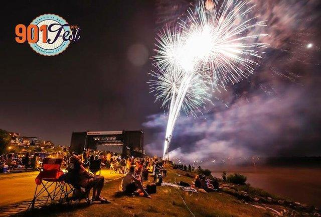 Fireworks Finale at 901Fest