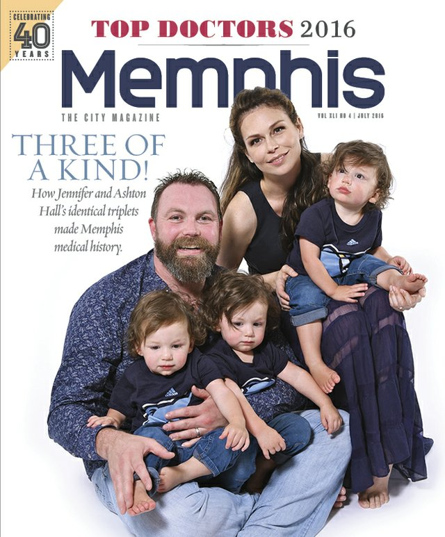 Memphis magazine, July 2016