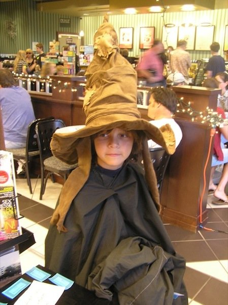 Harry Potter weekend festivities celebrate book release.
