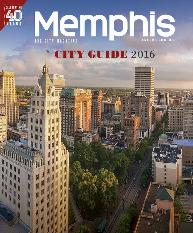 Memphis magazine, August 2016