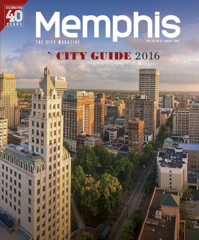 Memphis magazine, August 2016