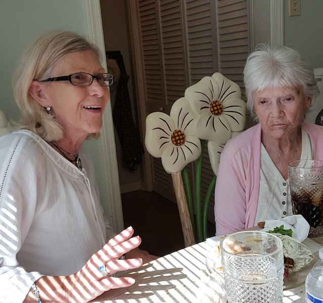 Marilyn and Betty Jane Heath recount stories of their neighbor in 1952