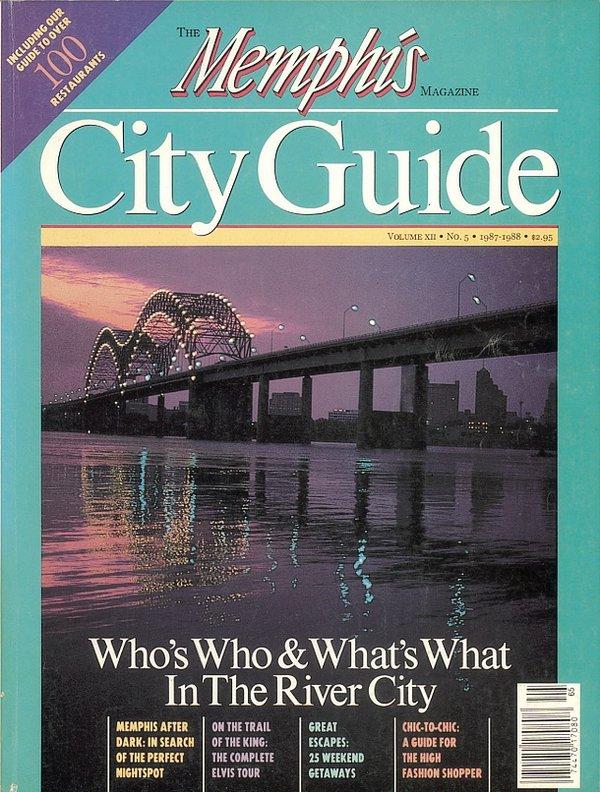 Memphis magazine, August 1987