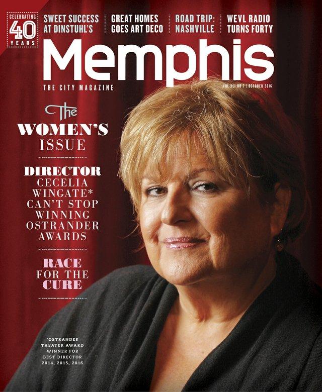 Memphis magazine, October 2016