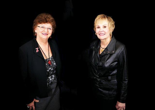 Anita Vaughn & Donna Abney