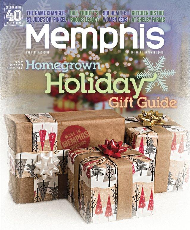Memphis magazine, November 2016
