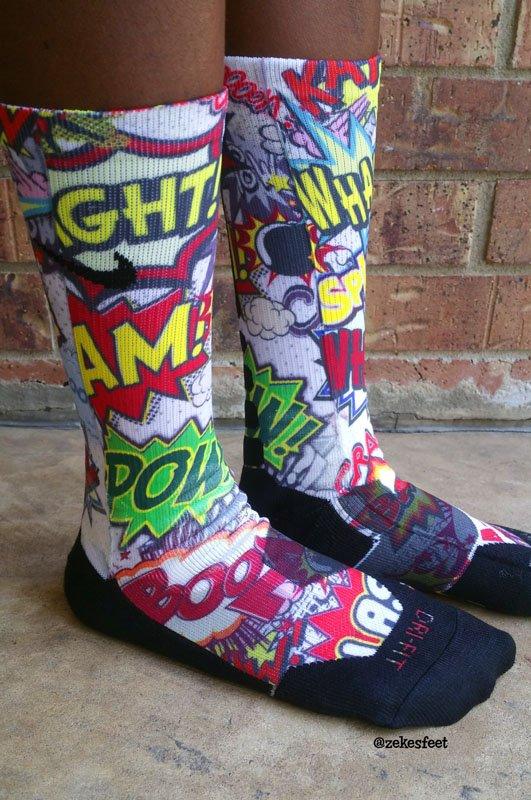 Socks from Zeke's Feet