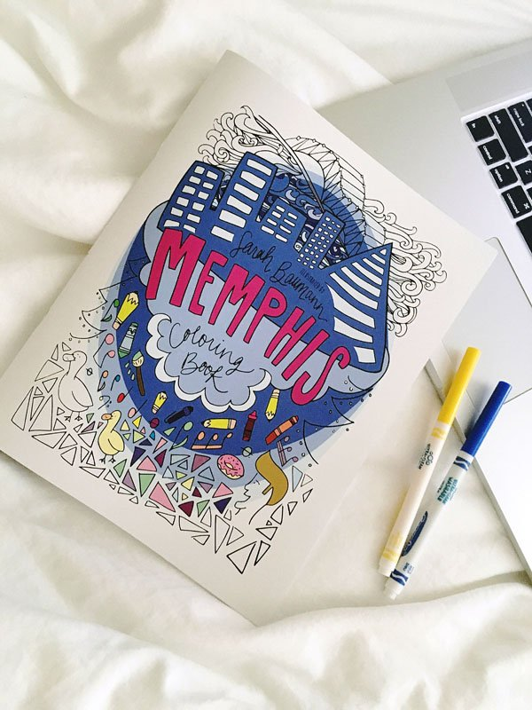 Memphis Coloring Book  from Signet Sealed