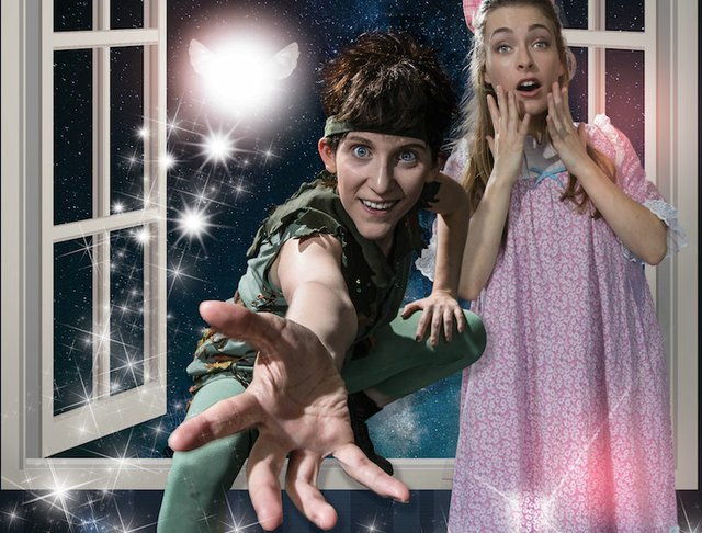 Peter Pan and the Darlings at Playhouse on the Square