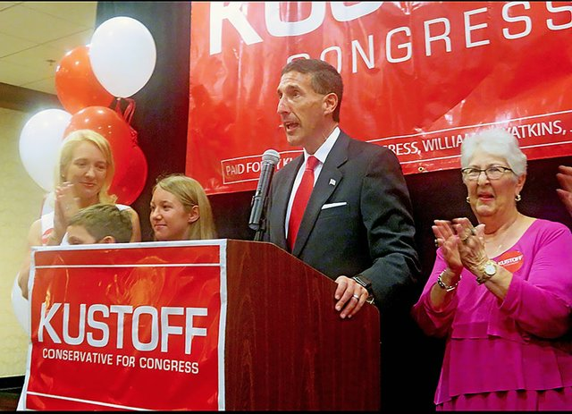 Kustoff with family members on Election Night.jpg
