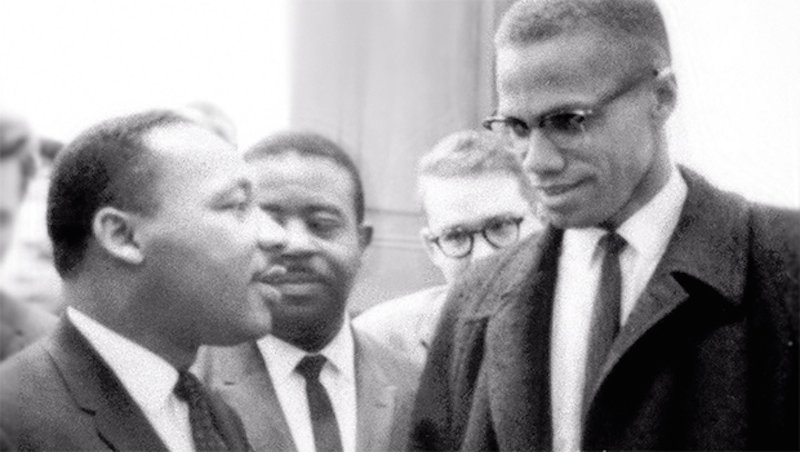 the disobedience to society of martin luther king jr and malcolm x Introduction in the volatile american society of the mid twentieth century, malcolm was born like martin luther king jr once criticized malcolm saying zimbabwe and others violent resistances became favoured over the hitherto ghandi's influenced non-violent civil disobedience approach.