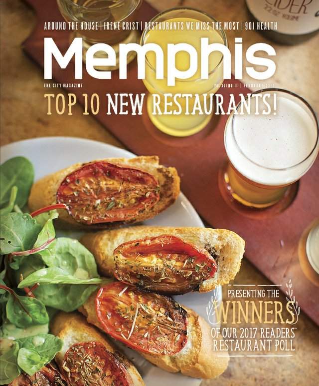 Memphis magazine, February 2017