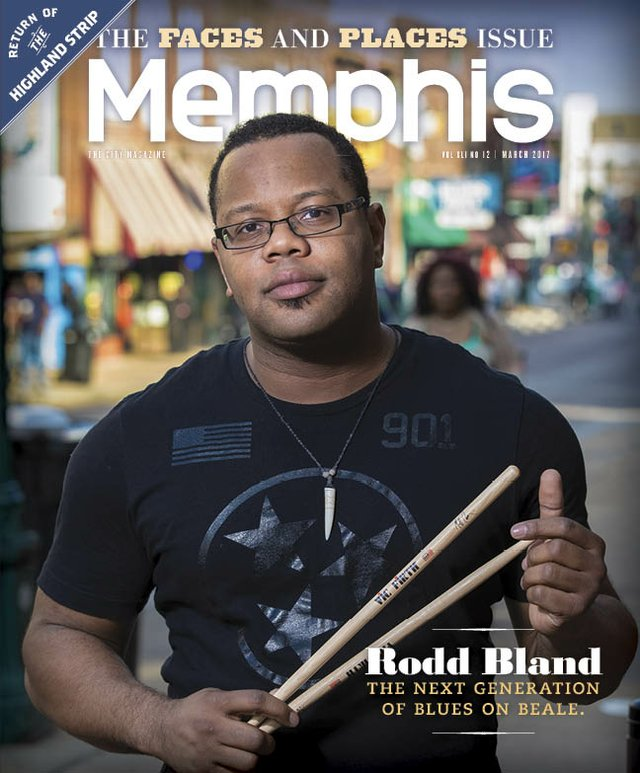 Memphis magazine, March 2017