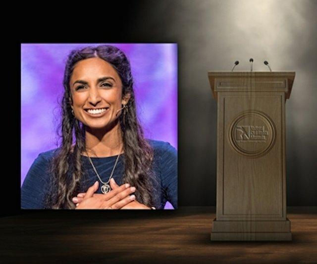 Valarie Kaur speaks at National Civil Rights Museum