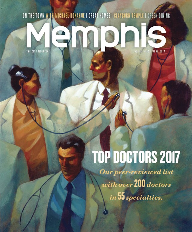 Memphis magazine, June 2017