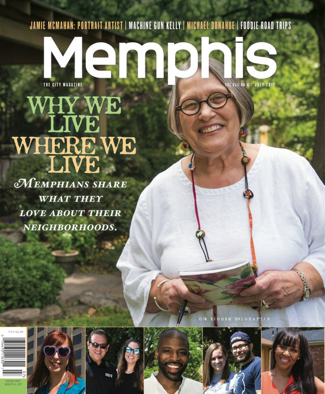 Memphis magazine, July 2017