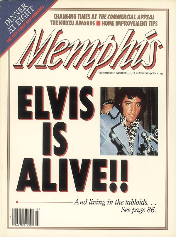 Memphis magazine, July 1988