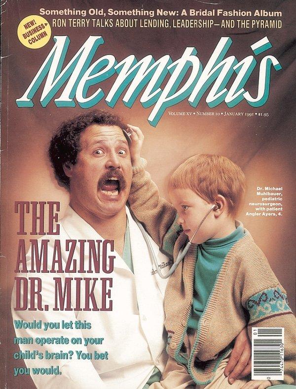 Memphis magazine, January 1991