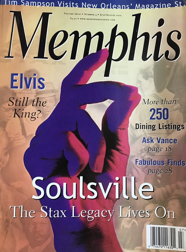 Memphis magazine, July/August 2002