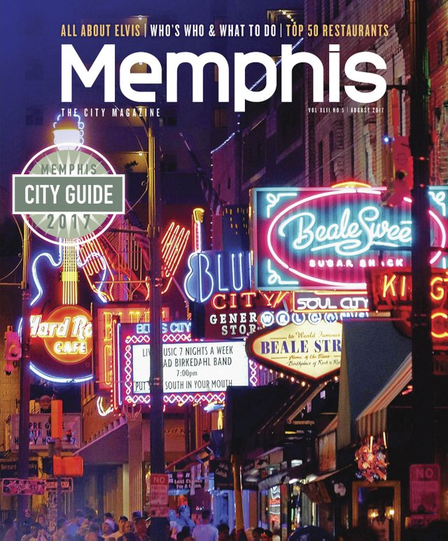 Memphis magazine, August 2017