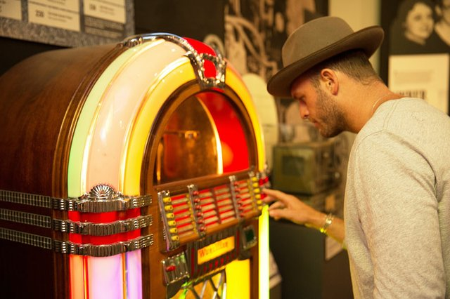 Rock and Soul/Memphis Music Hall of Fame - jukebox