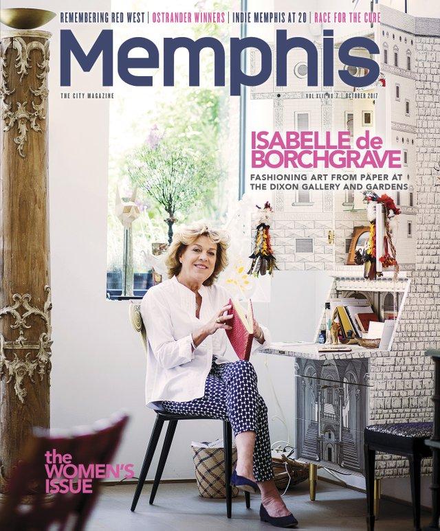 Memphis magazine, October 2017