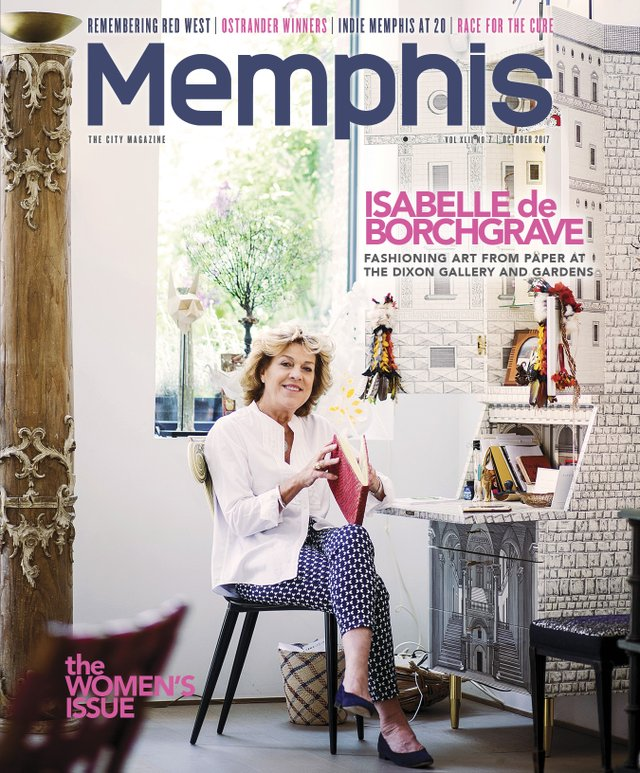 Memphis magazine, October 2017