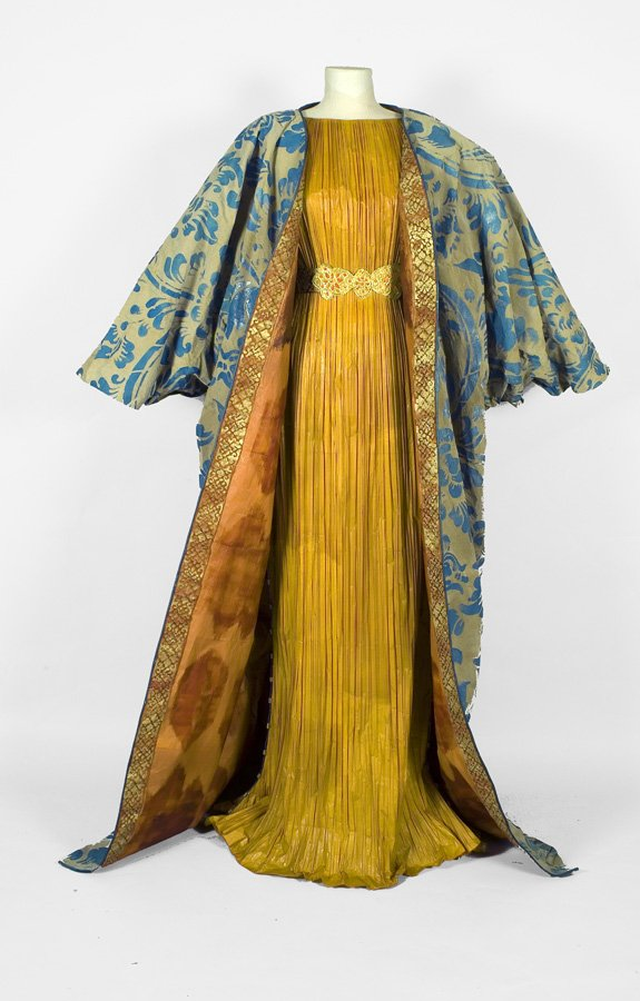 Delphos Dress and Knossos Shawl, 2008