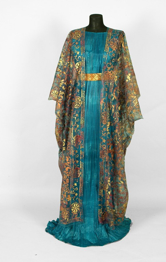 Delphos Dress and Shawl, 2006-7