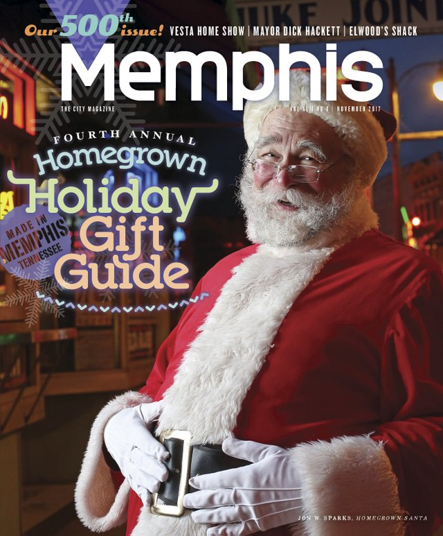Memphis magazine, November 2017
