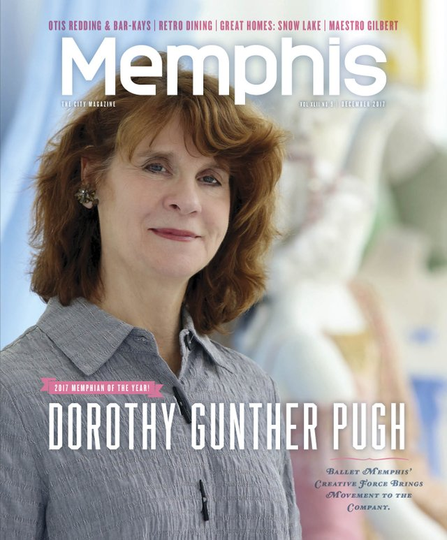Memphis magazine, December 2017
