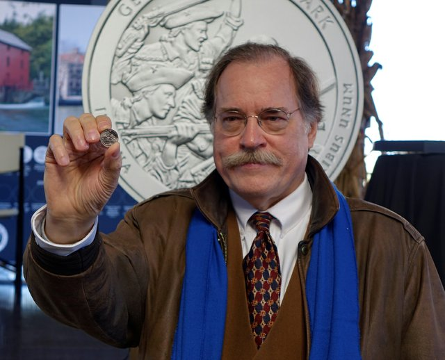 2. Memphis Portrait Artist Frank Morris Designs Coin to Honor Revolutionary War Hero George Rogers Clark . Photo courtesy of US Mint .jpg