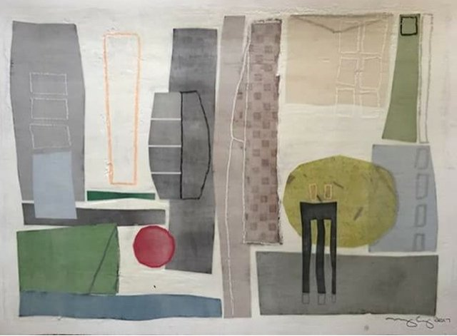 """""""The Paper Show,"""" Jay Etkin Gallery"""