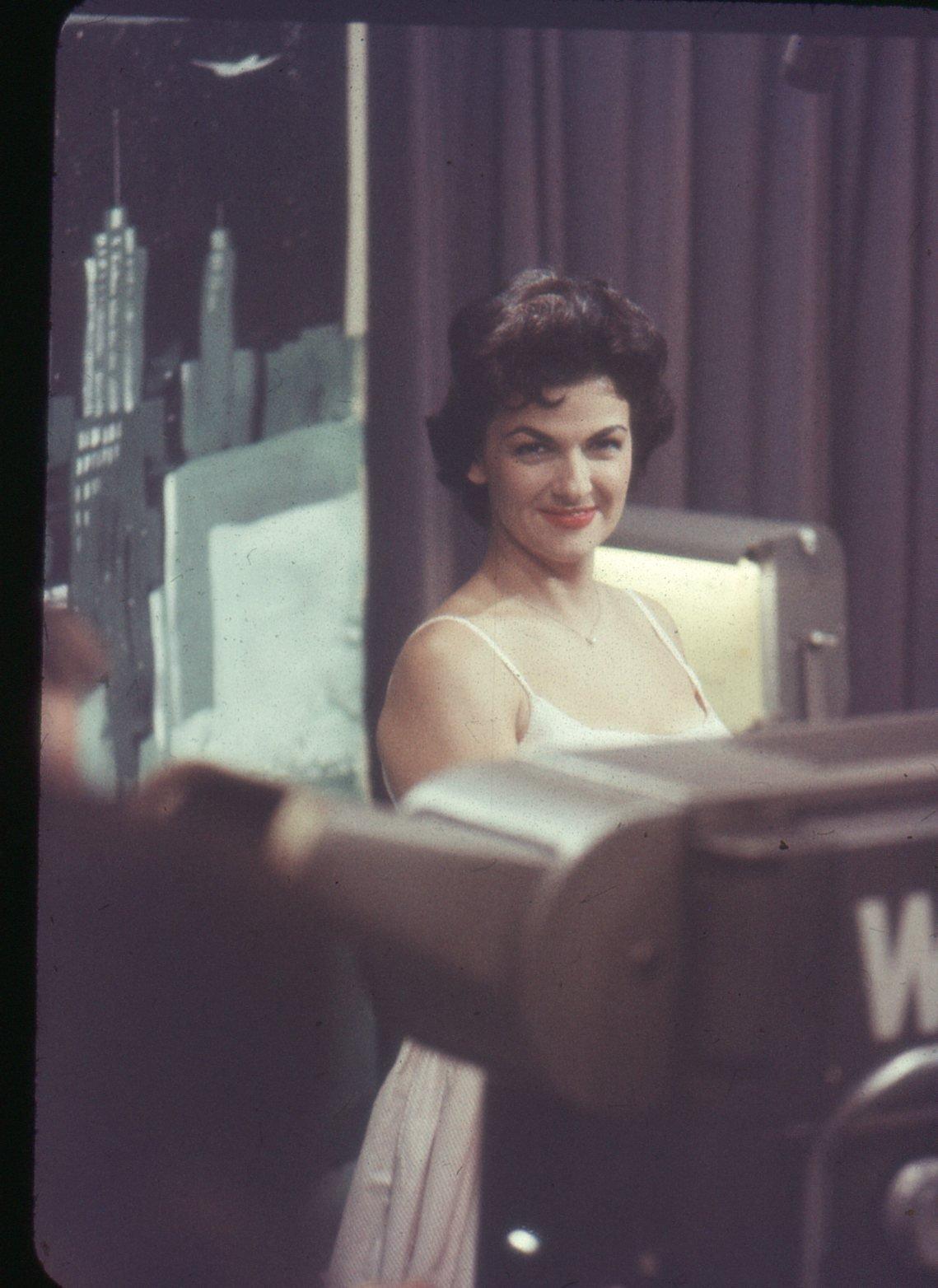 Behind the Scenes at Memphis' WREC-TV Studio in the 1950s
