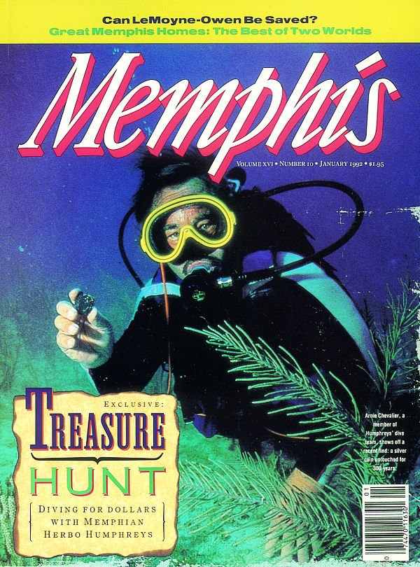 Memphis magazine, January 1992