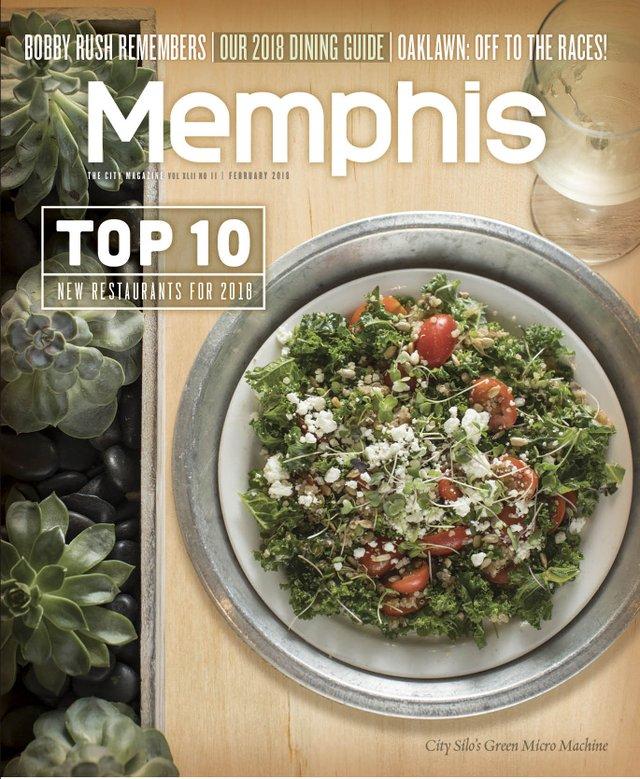 Memphis magazine, February 2018