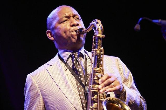 Saxophonist Branford Marsalis performs at Germantown Performing Arts Center