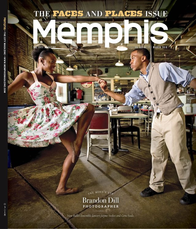 Memphis magazine, March 2018