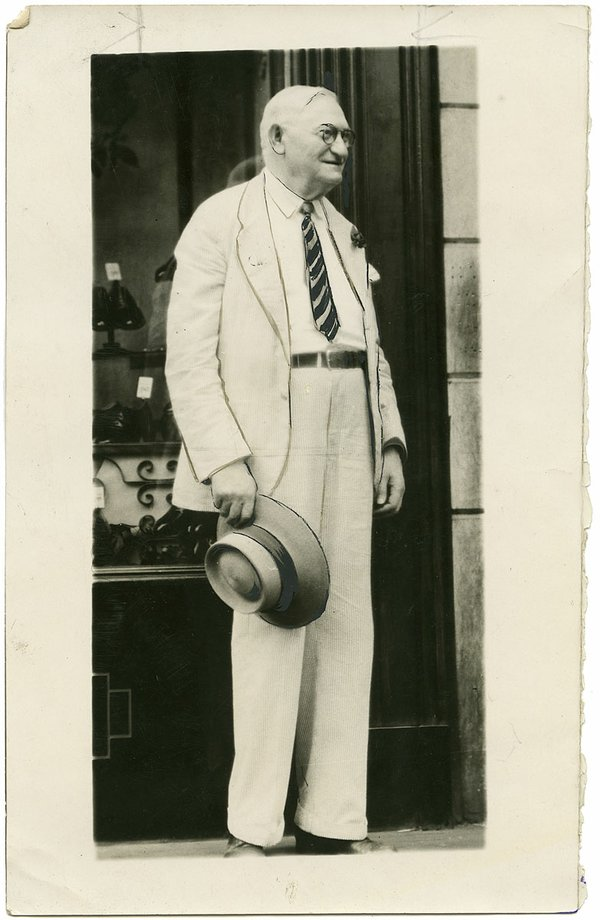 Abe Goodman, late 1930's
